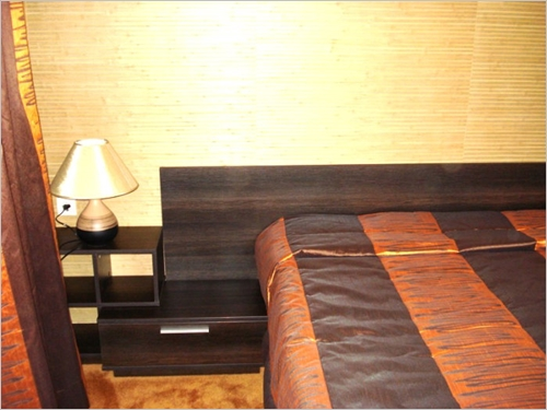 Спалня по проект с удължени панели